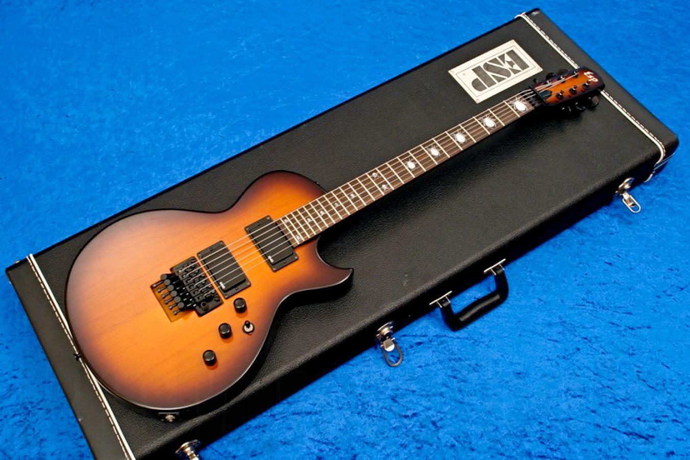 ESP Kirk Hammett KH-3 CS Tobacco Sunburst - Custom Shop
