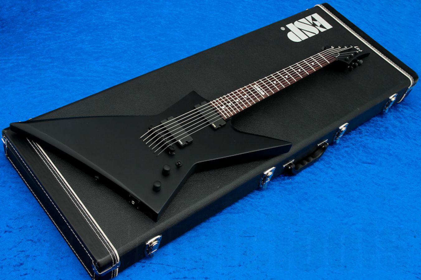 ESP Ltd EX-307 BLKS - Black Satin
