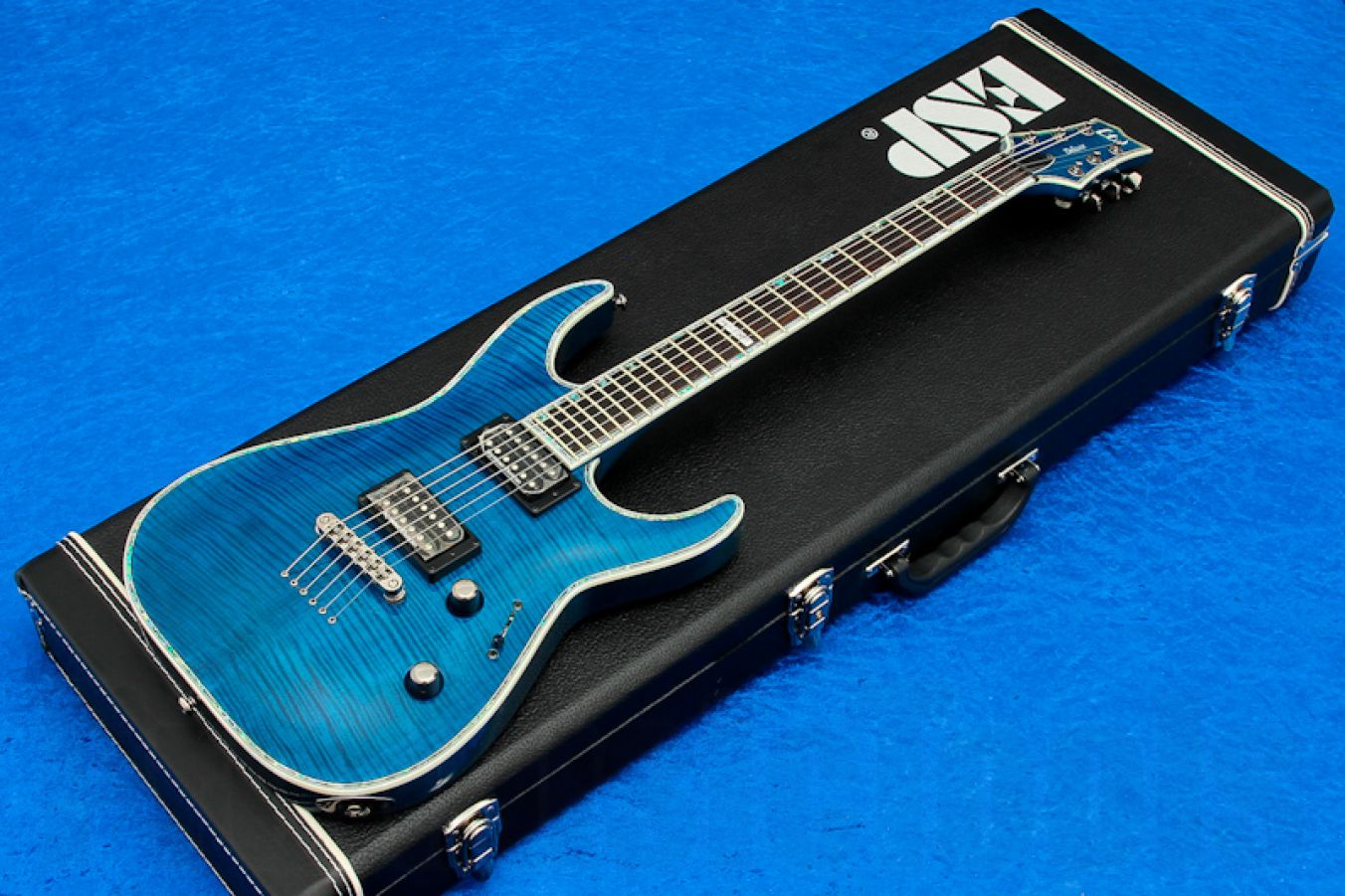 ESP Ltd Horizon H-1001FM STB - See Thru Blue