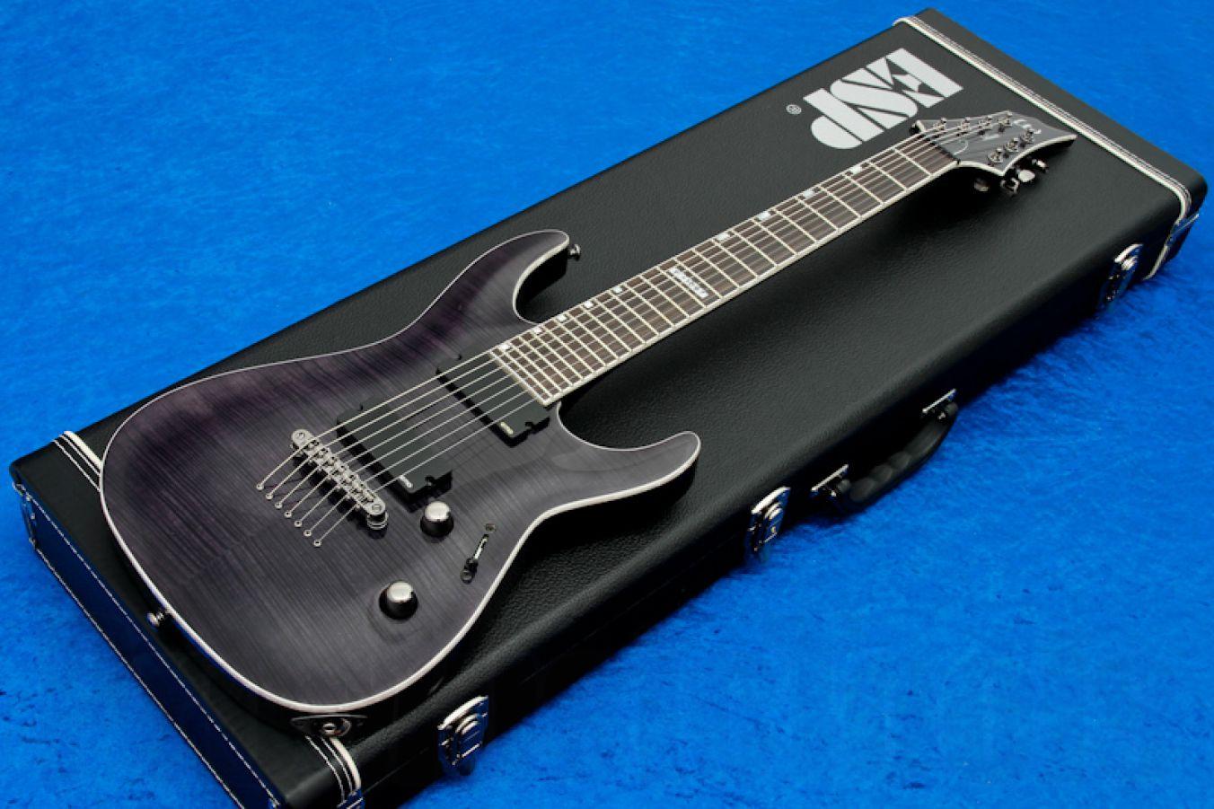ESP Ltd Horizon H-1007 STBLK - See Thru Black - demo