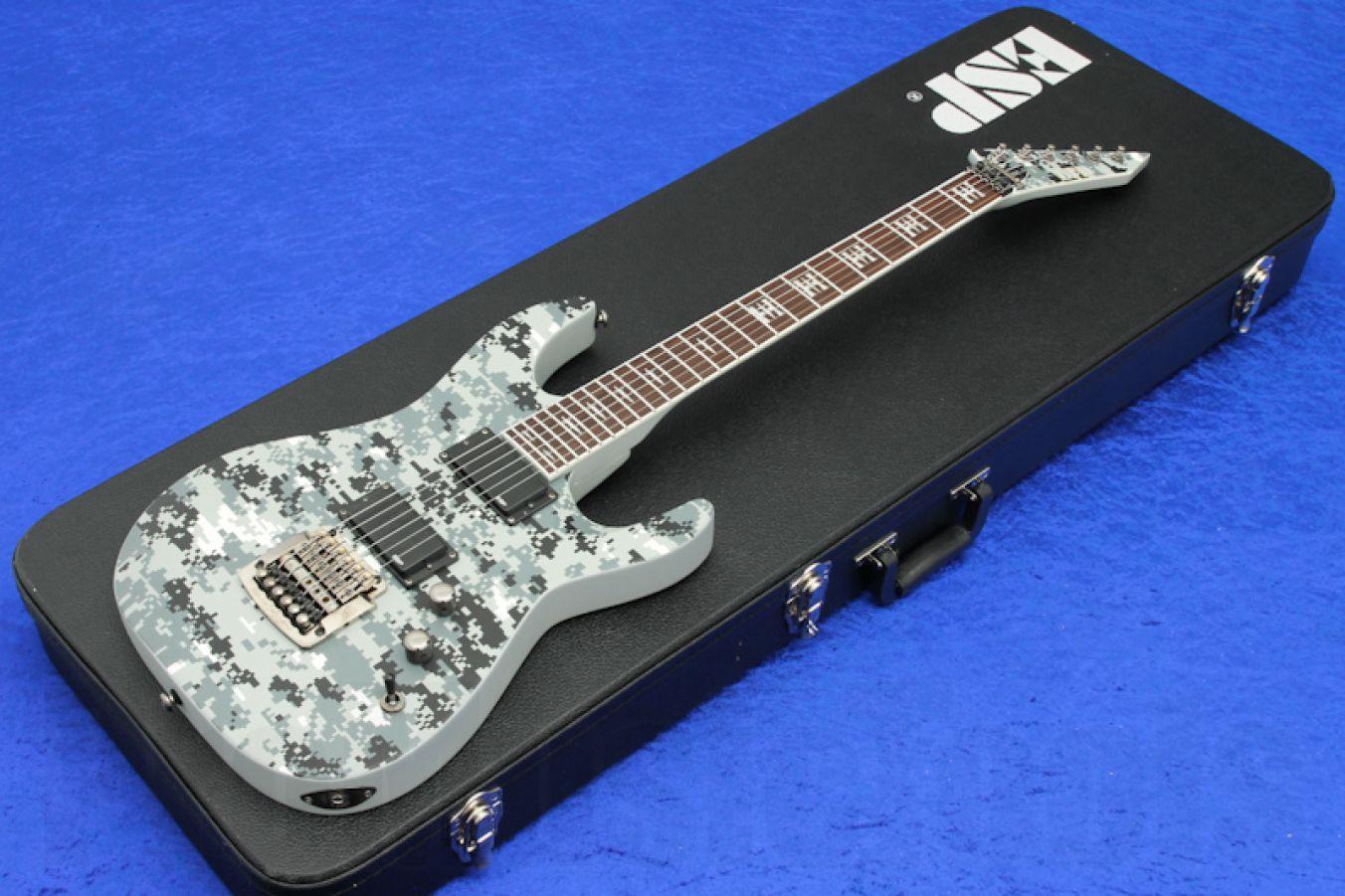ESP Ltd JH-200 DC - Digi Camo - Jeff Hanneman Signature