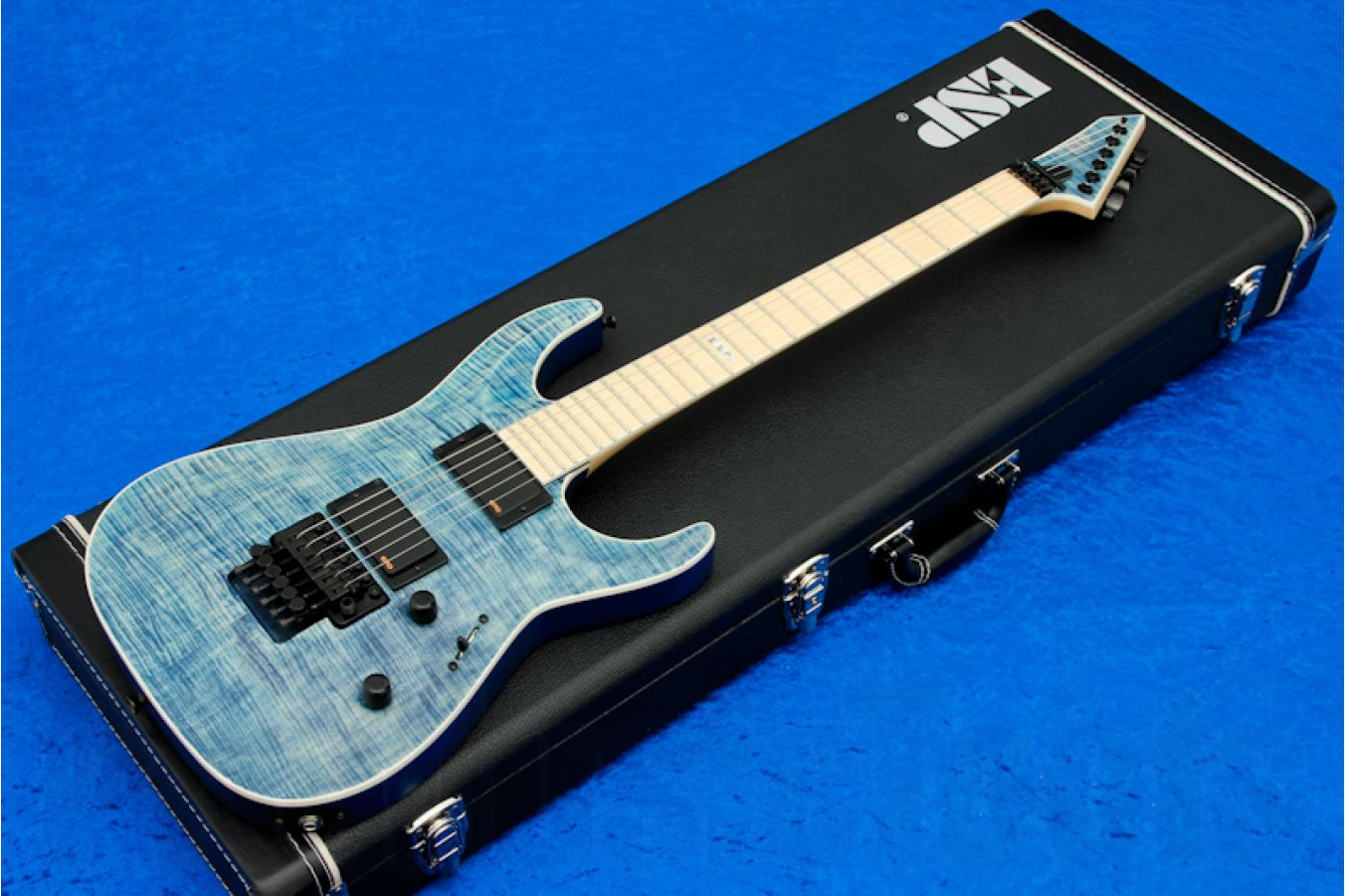 ESP Horizon FR-II/M Faded Blue Satin - PMT Special Edition