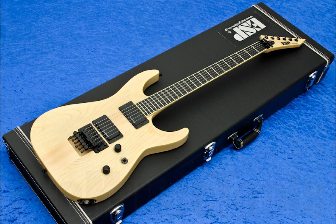 ESP Horizon FR Natural Ash Satin - PMT Special Edition