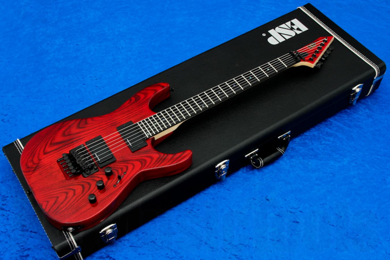ESP M-II 'Burned Red' - PMT Special Edition