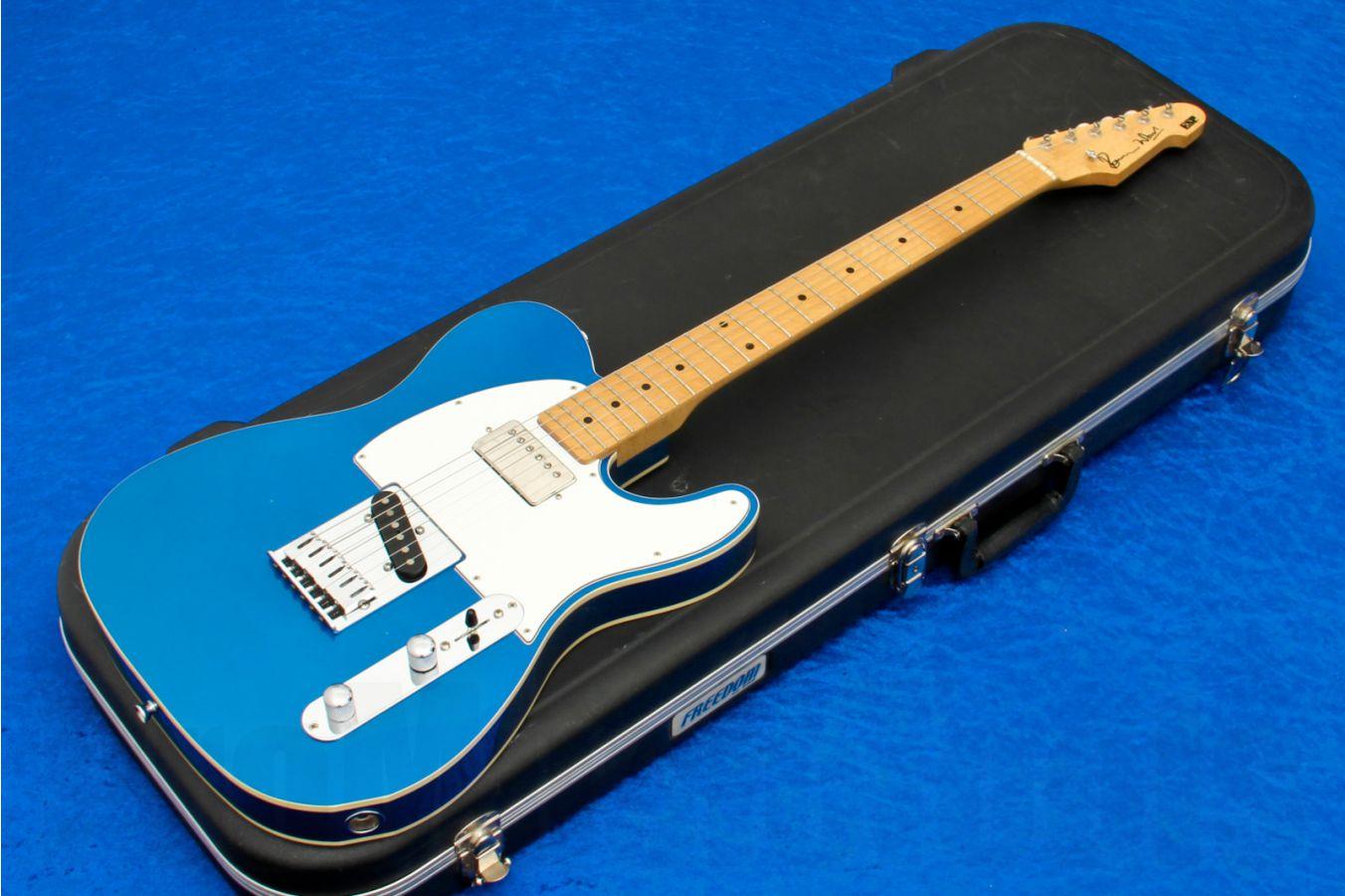 ESP Ron Wood CS Metallic Blue - Custom Shop