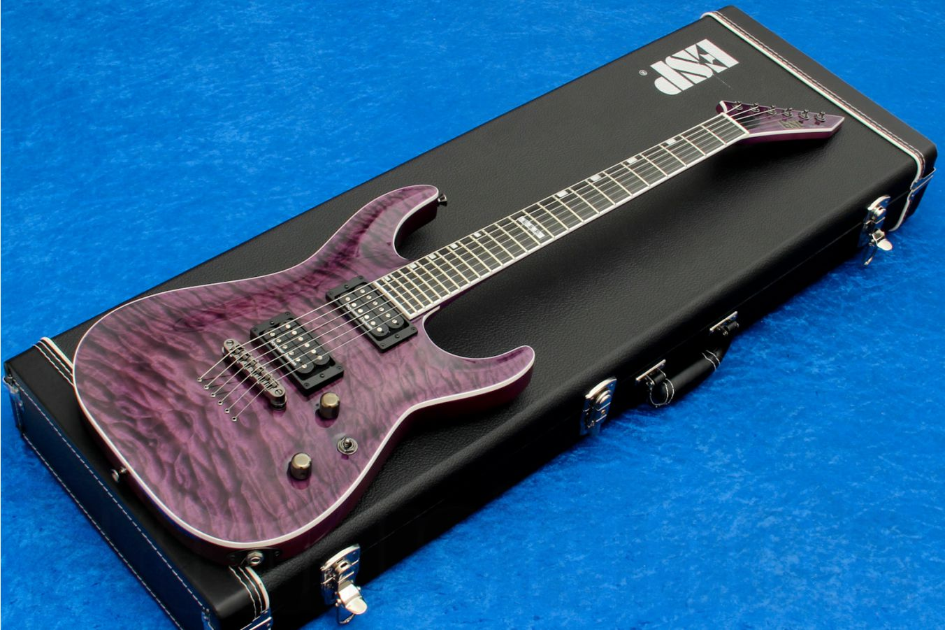 ESP Horizon NT-II QM STP Special Edition - See Thru Purple