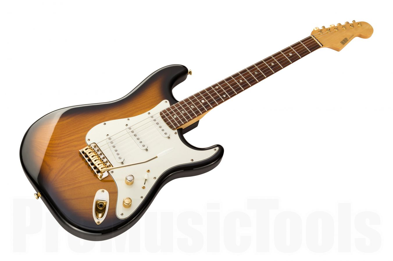 ESP 800 Series Custom Shop Strat 2TB - 2-Tone Sunburst