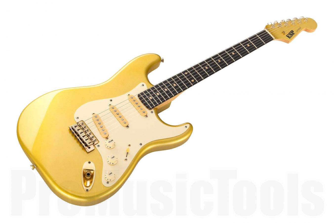 ESP Limited Edition Custom Shop Strat - Shoreline Gold