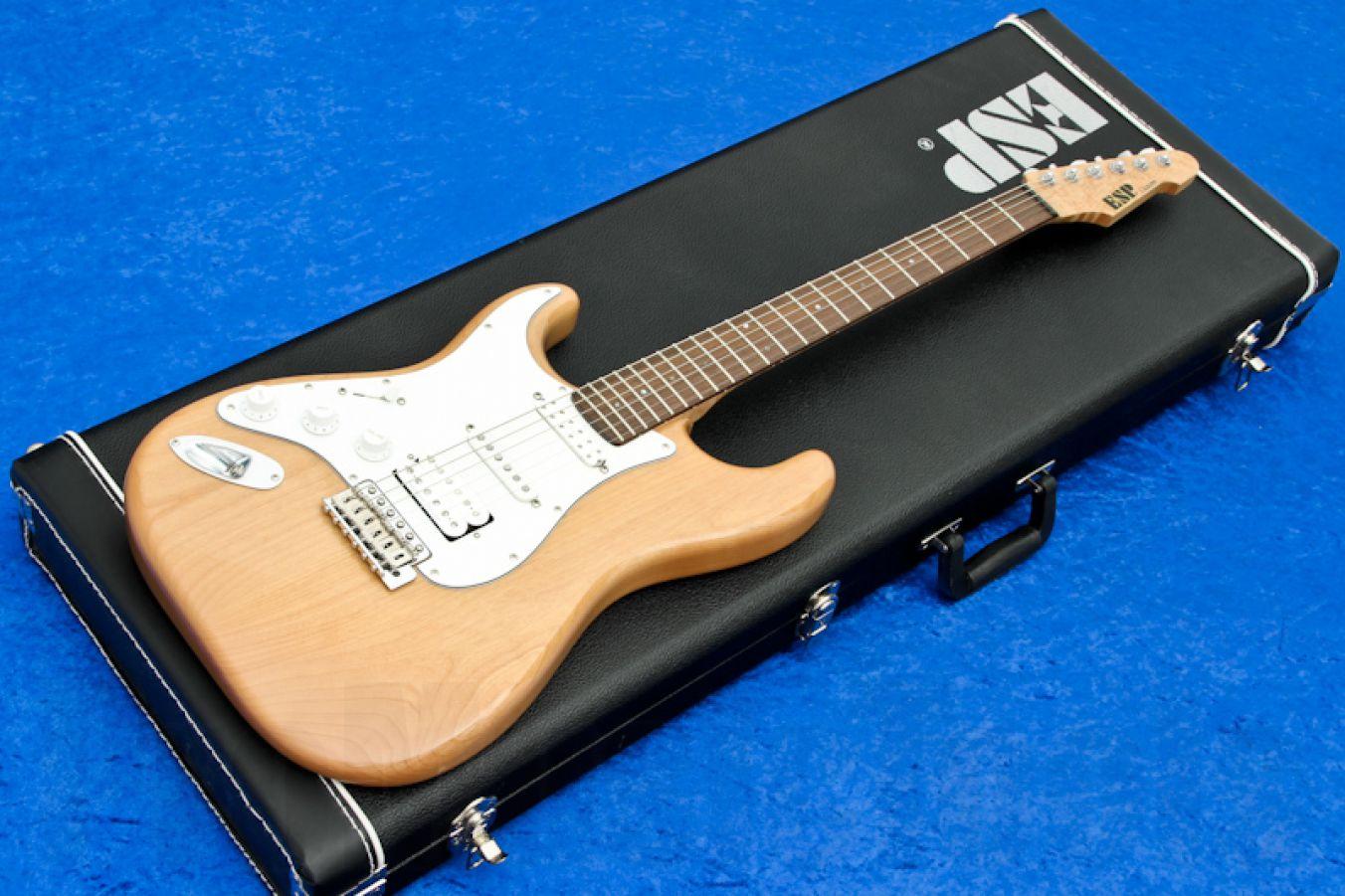ESP Vintage Plus CS - Custom Shop 'Lefty Strung Righty'
