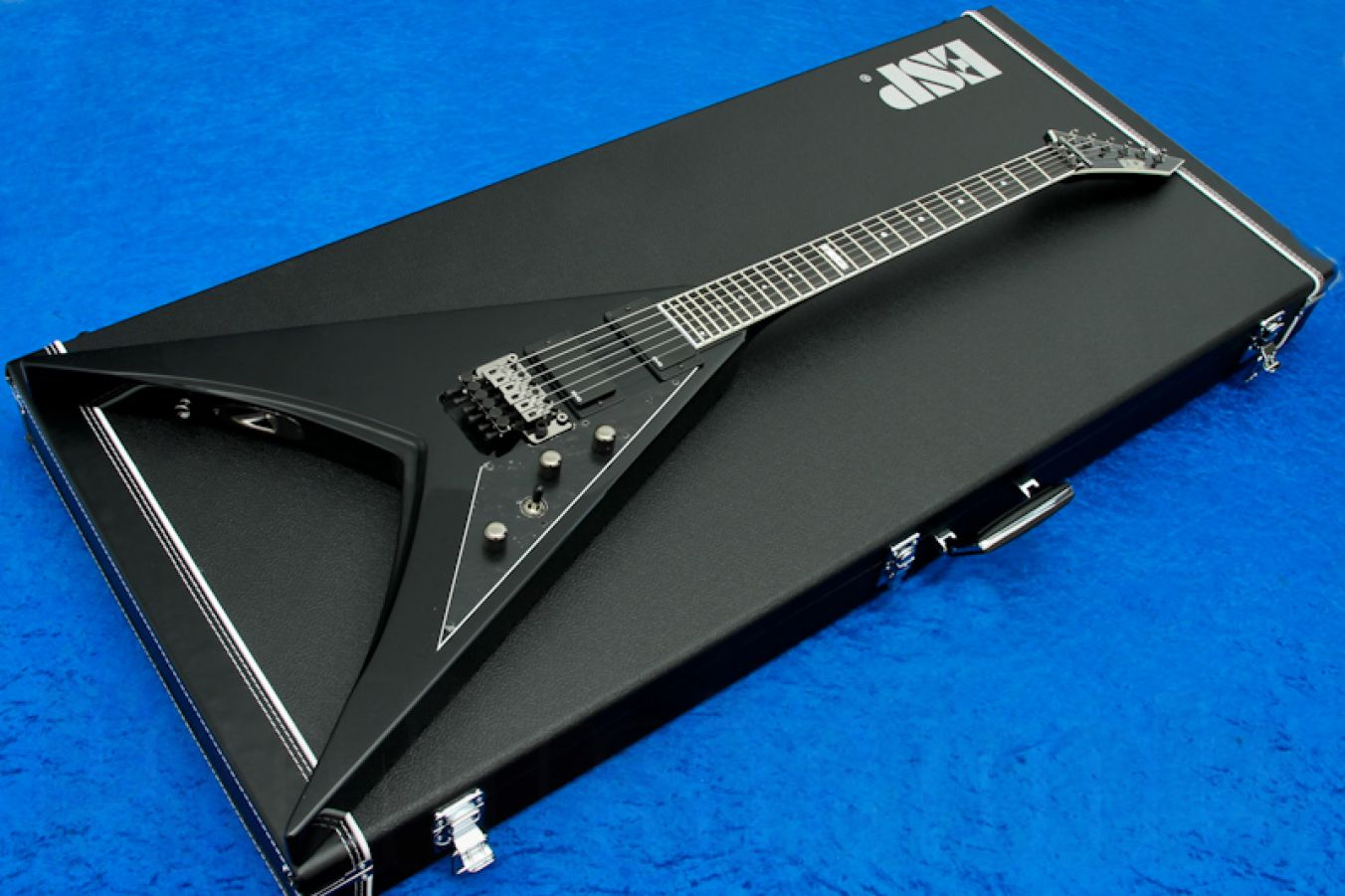 ESP V-II STD FR BK - Black