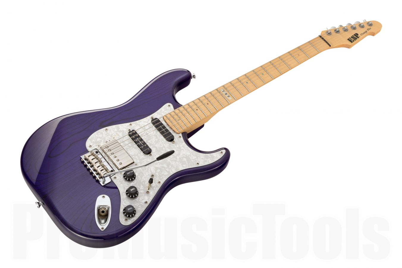 ESP Vintage Plus STP - See Thru Purple - Custom Shop