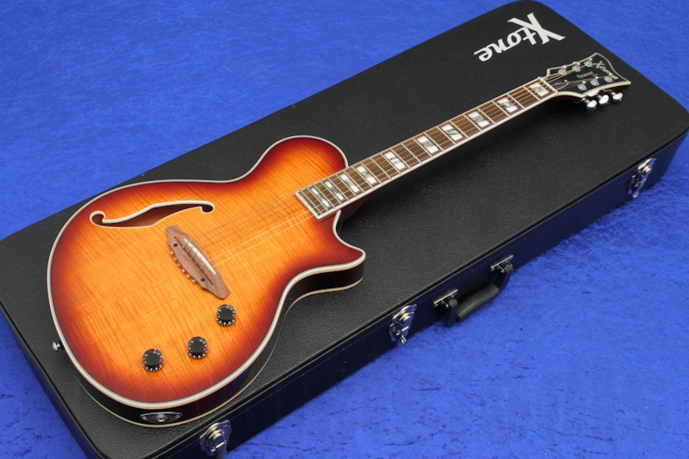 ESP Ltd Xtone PA-1FM BSB – Brown Sunburst