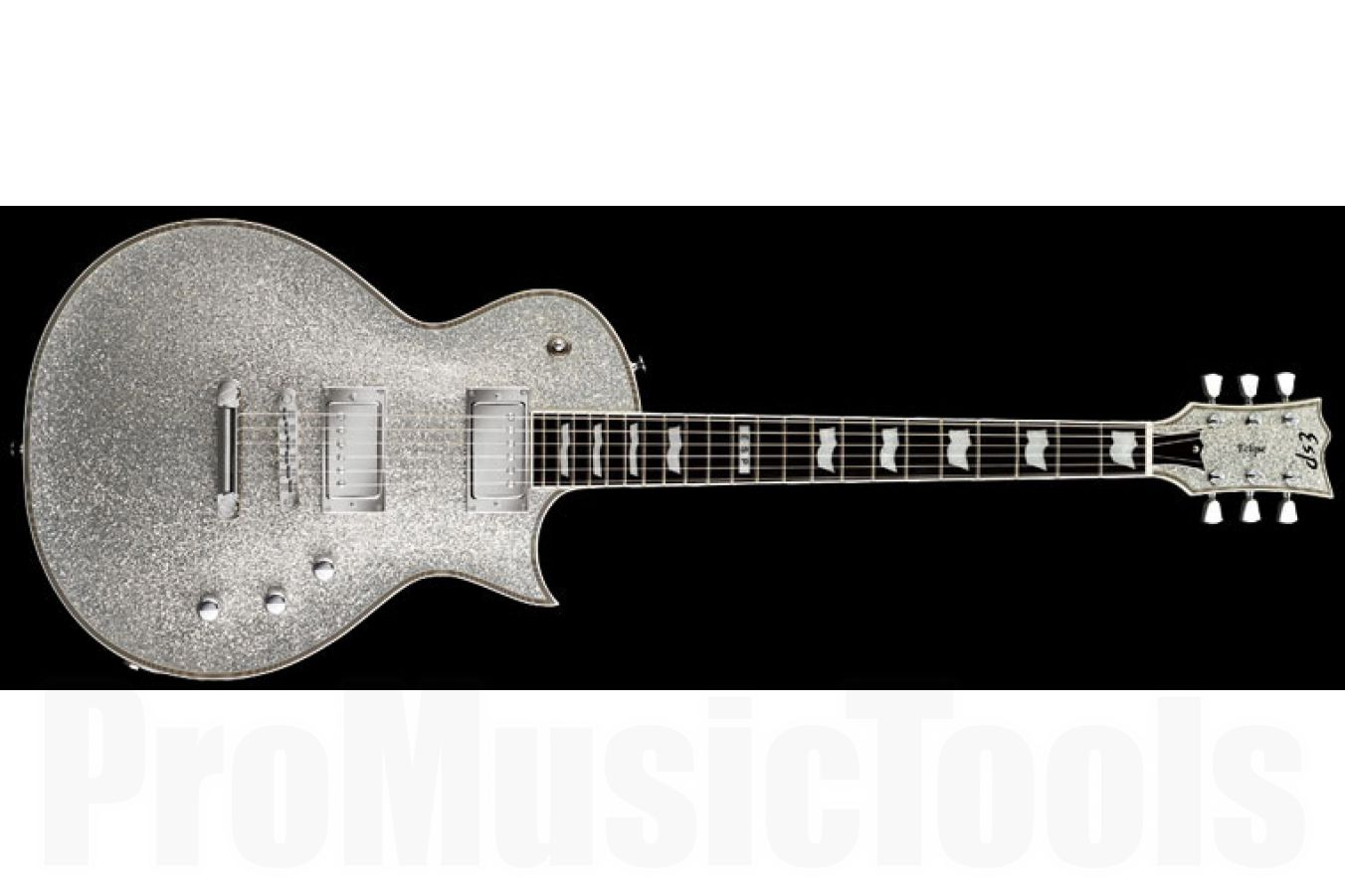 ESP Eclipse-II USA SD SSP - Silver Sparkle