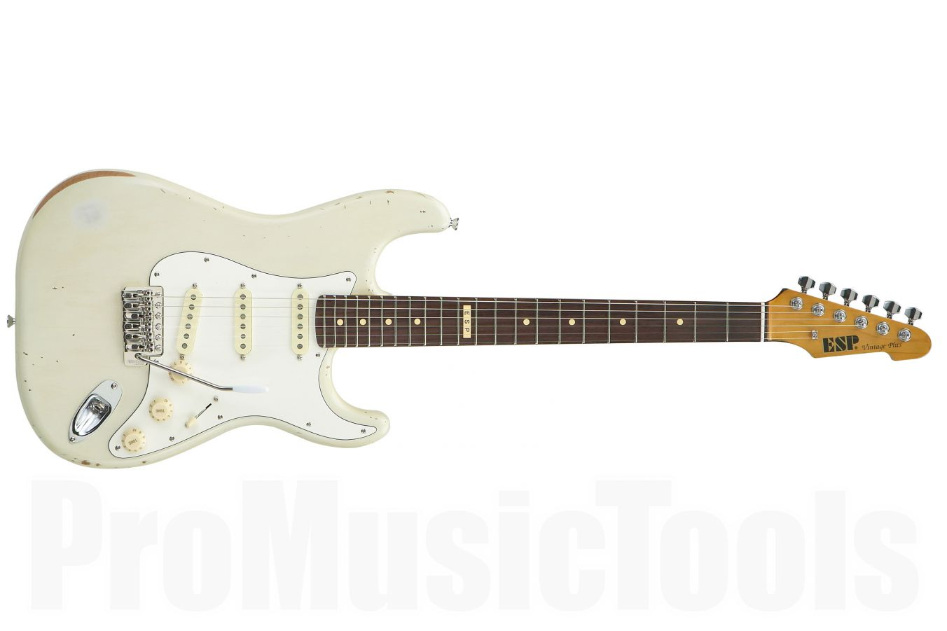 ESP Vintage Plus/R Distressed OW - Olympic White