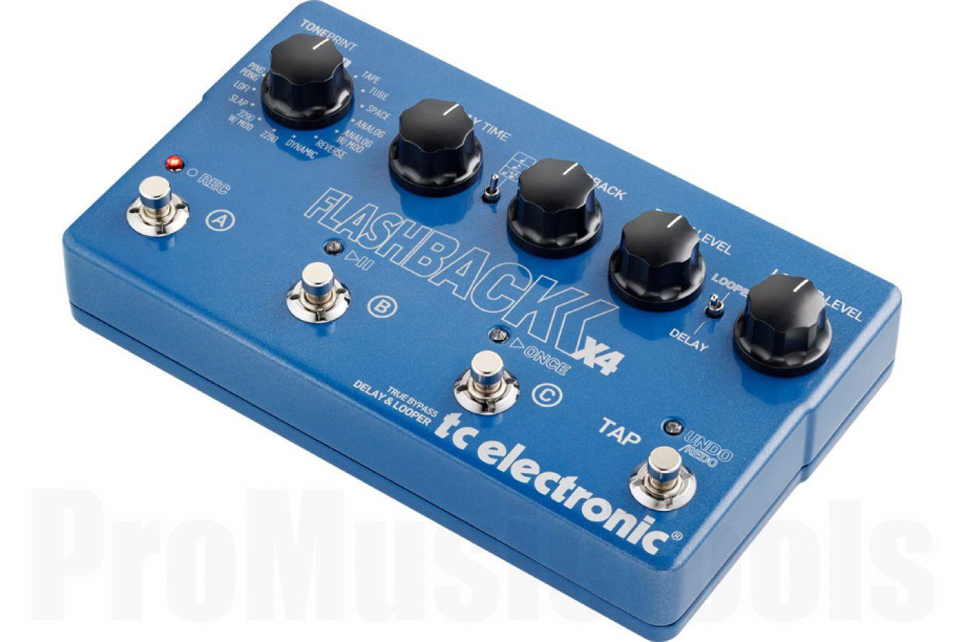 TC Electronic Flashback X4 - demo
