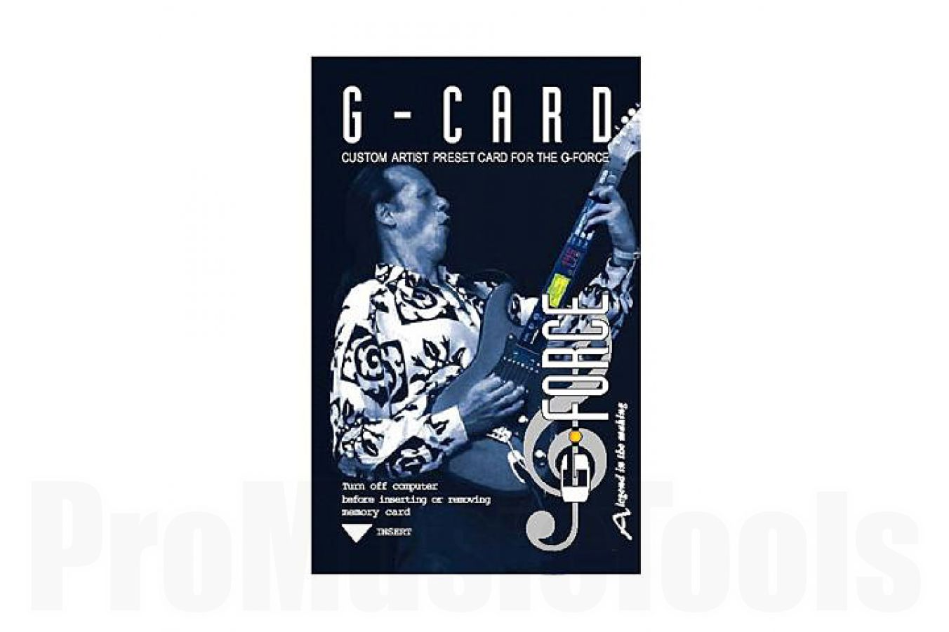 TC Electronic G-Card - 245 presets f. G-Force