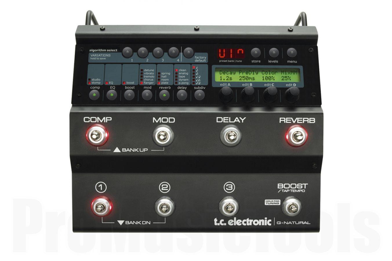 TC Electronic G-Natural - b-stock (1x opened box)