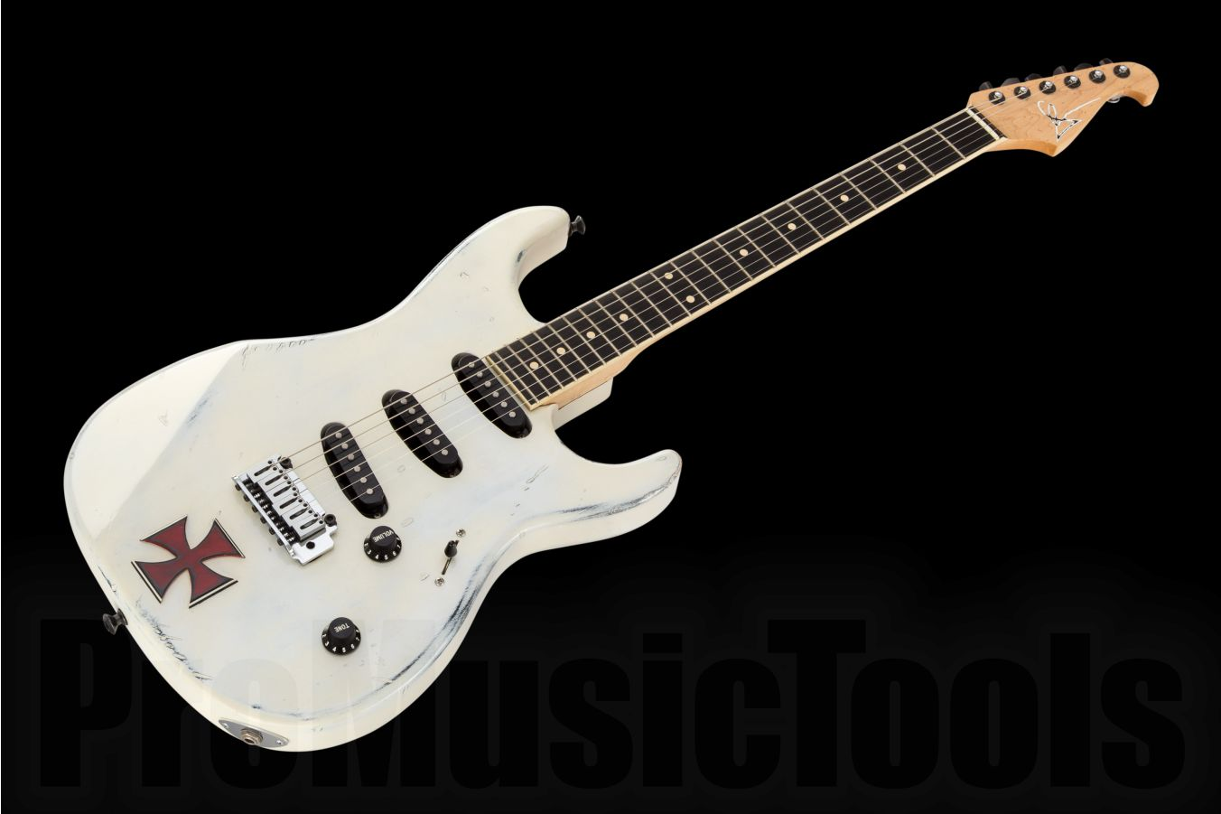 Gary Kramer USA Custom Shop Strat - Distressed White
