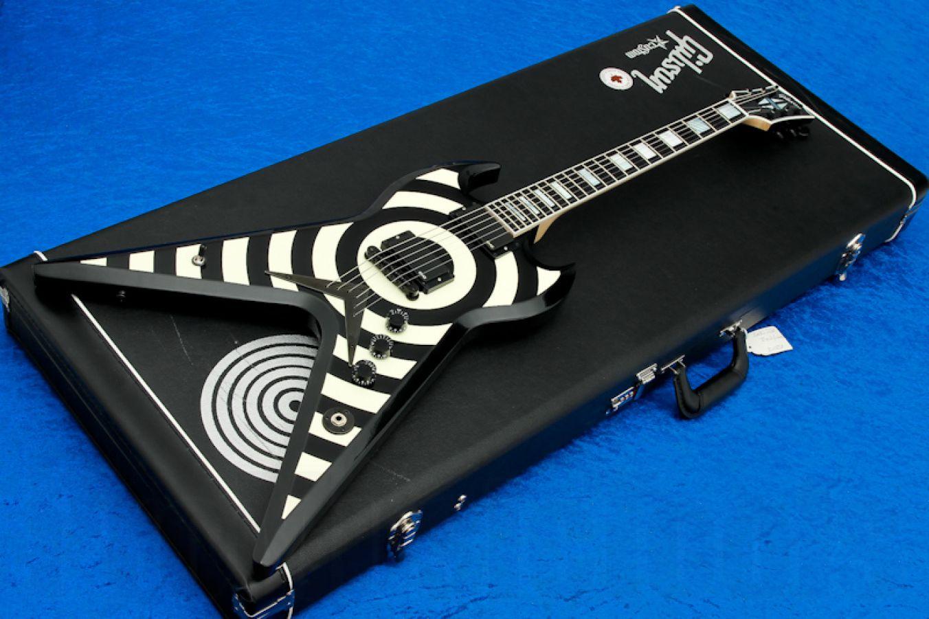 Gibson USA Custom Shop Zakk Wylde ZV Bullseye