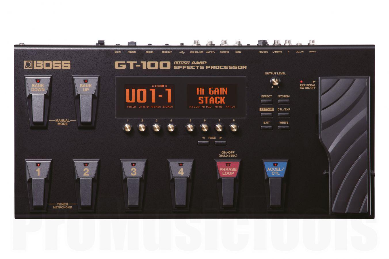 Boss GT-100 Guitar Effects Processor