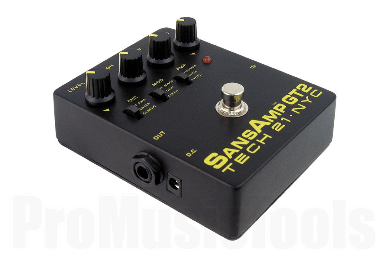 Tech 21 USA SansAmp GT2 Tube Amp Emulator