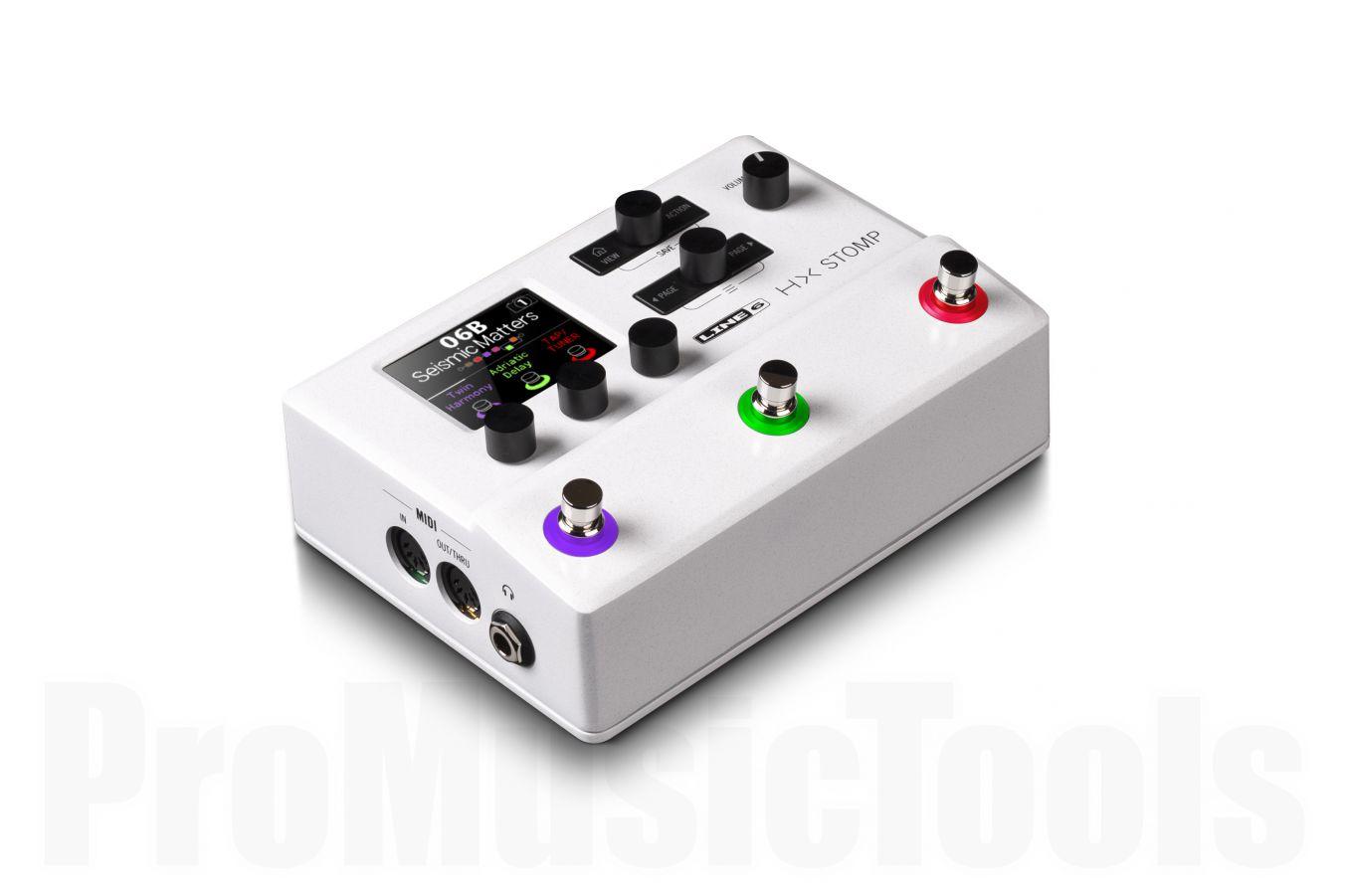 Line 6 HX Stomp White Limited Edition