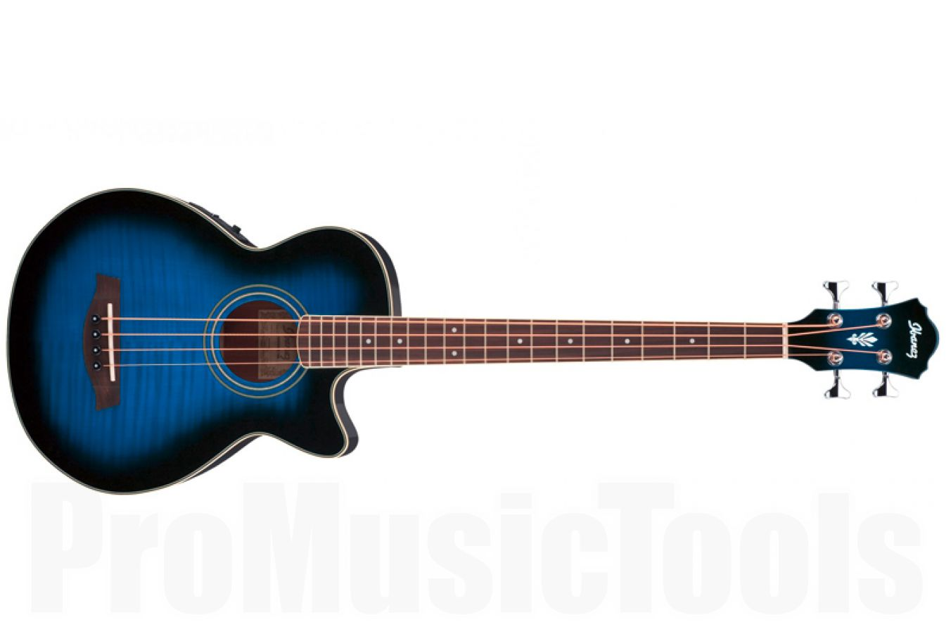 Ibanez AEGB20E TBS - Transparent Blue Sunburst - demo
