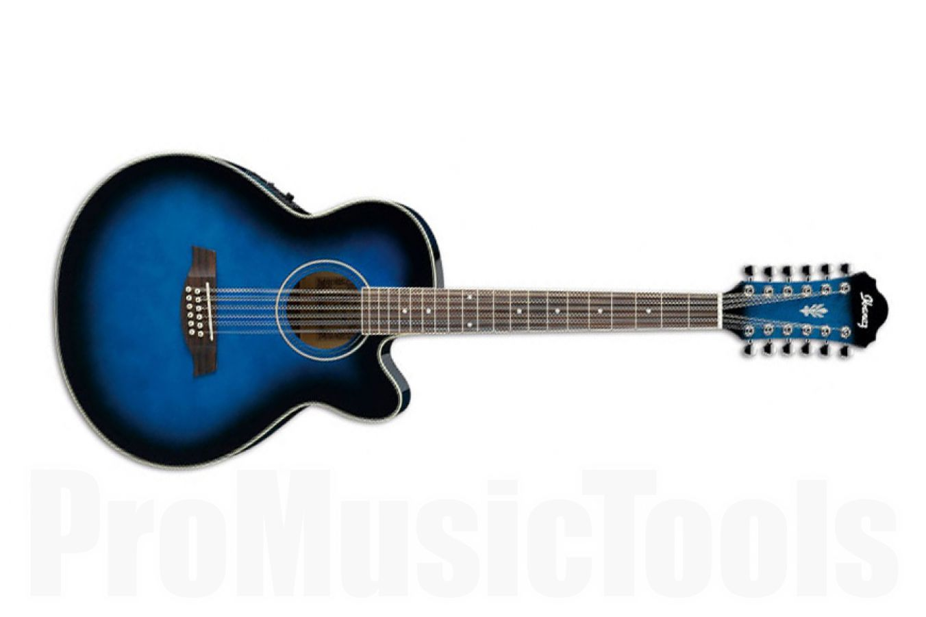 Ibanez AEL1512E TBS - Transparent Blue Sunburst