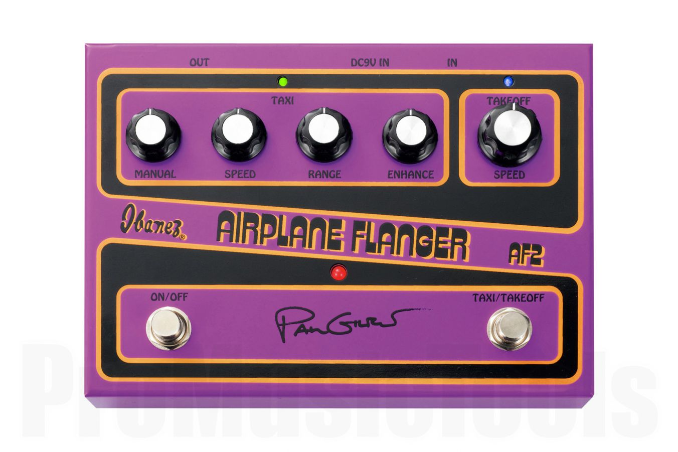 Ibanez AF2 Airplane Flanger Paul Gilbert Signature Pedal - demo