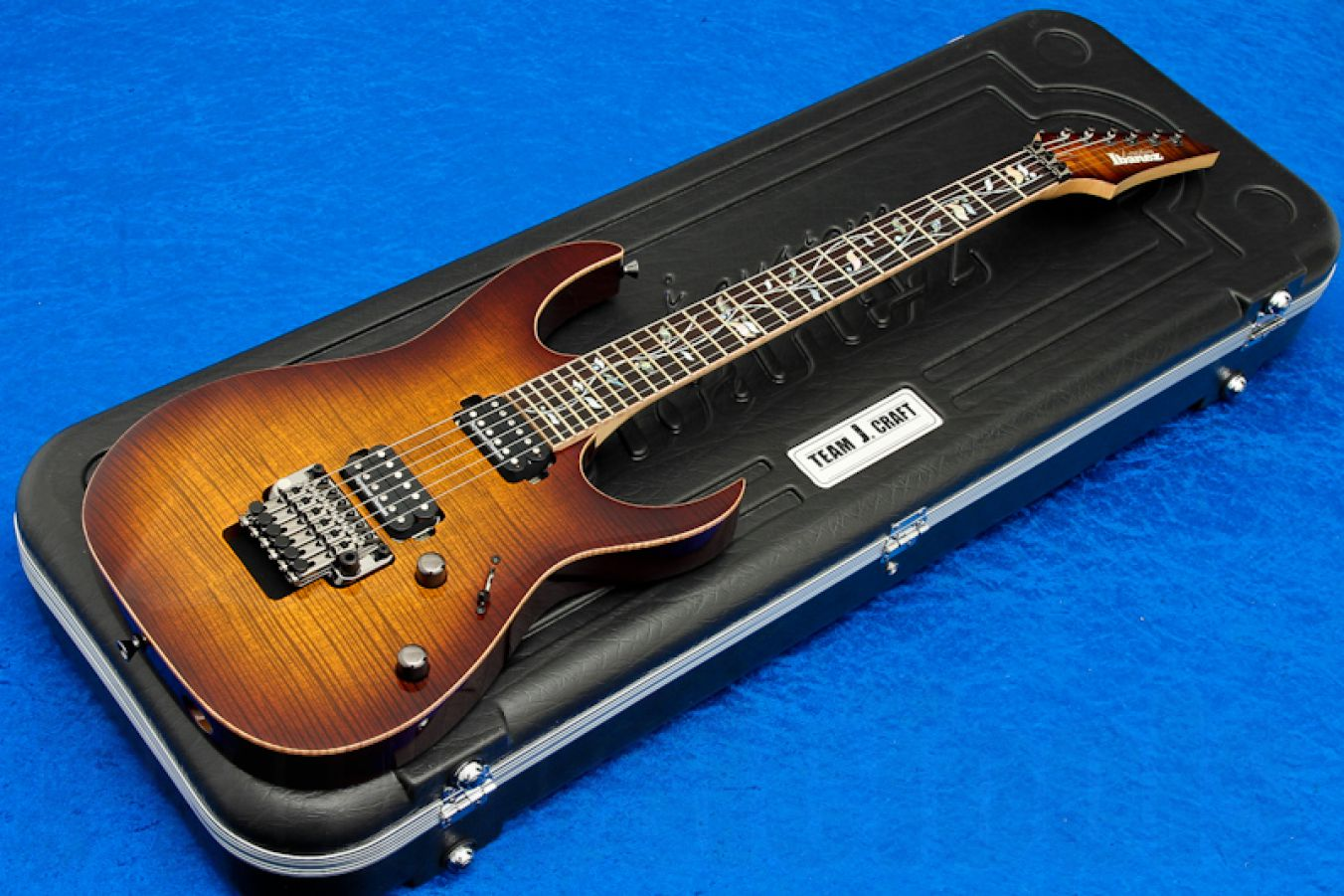 Ibanez RG20126 BGA J-Custom - Brown Garnet - Limited Edition