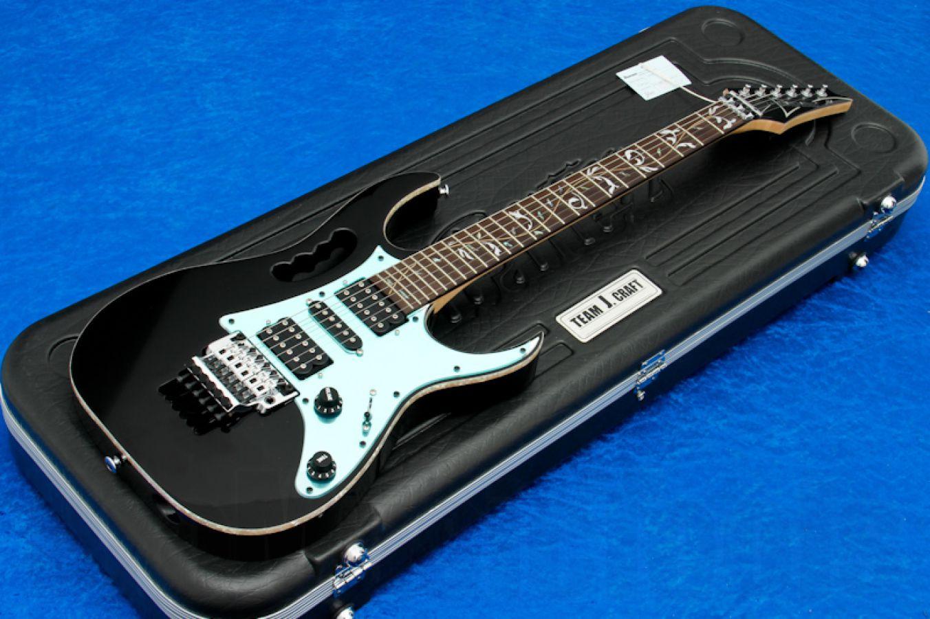 Ibanez JEM77V BK Prestige - Black - Steve Vai Signature - demo