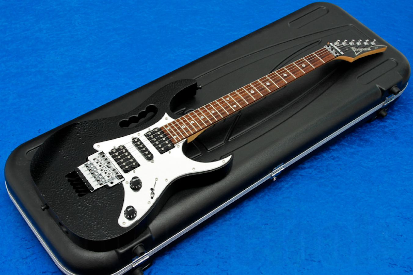 Ibanez JEM7D BK Prestige - Structured Black - Steve Vai Signature