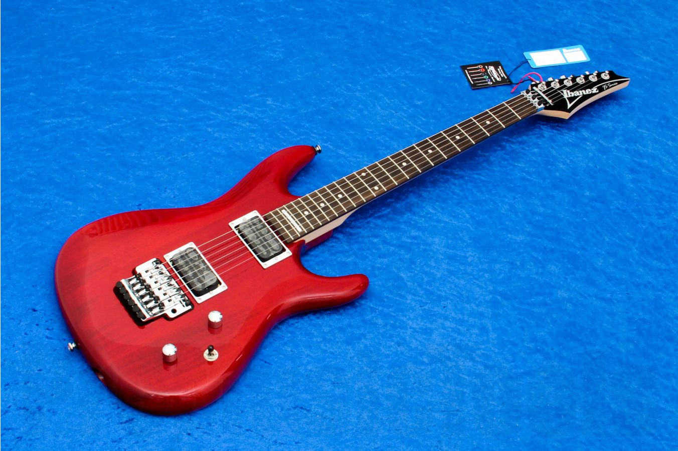 Ibanez JS100 TR - Transparent Red - Joe Satriani Signature - demo