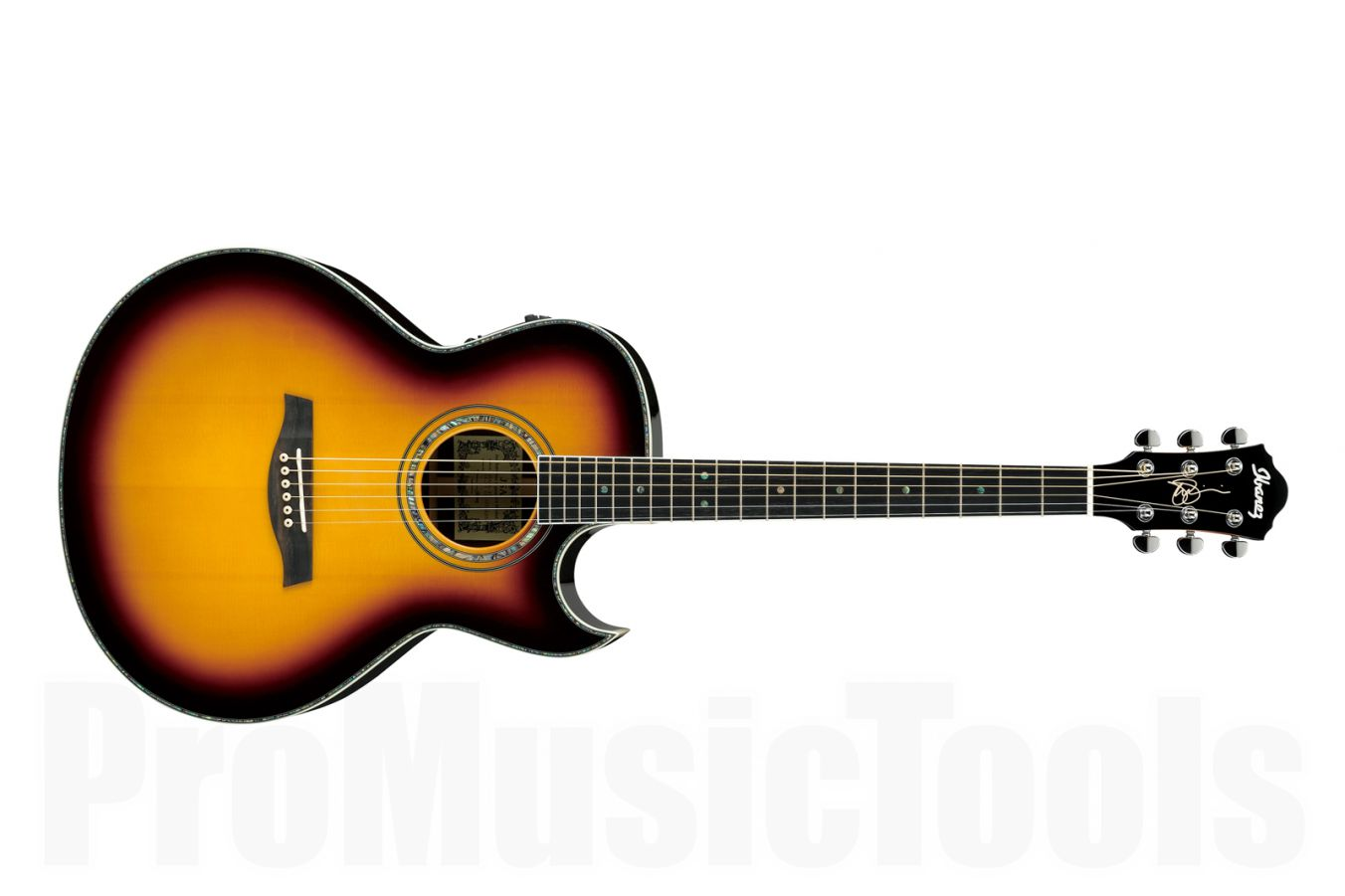 Ibanez JSA20 VB - Vintage Burst - Joe Satriani Signature - demo
