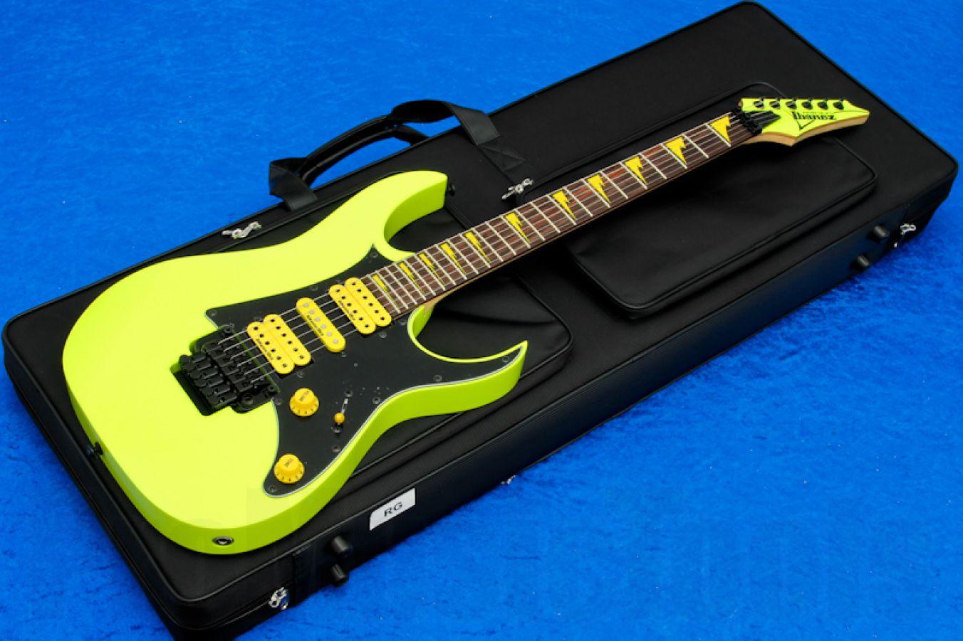 Ibanez RG1XXV FYE Premium 25th Anniversary - Fluorescent Yellow