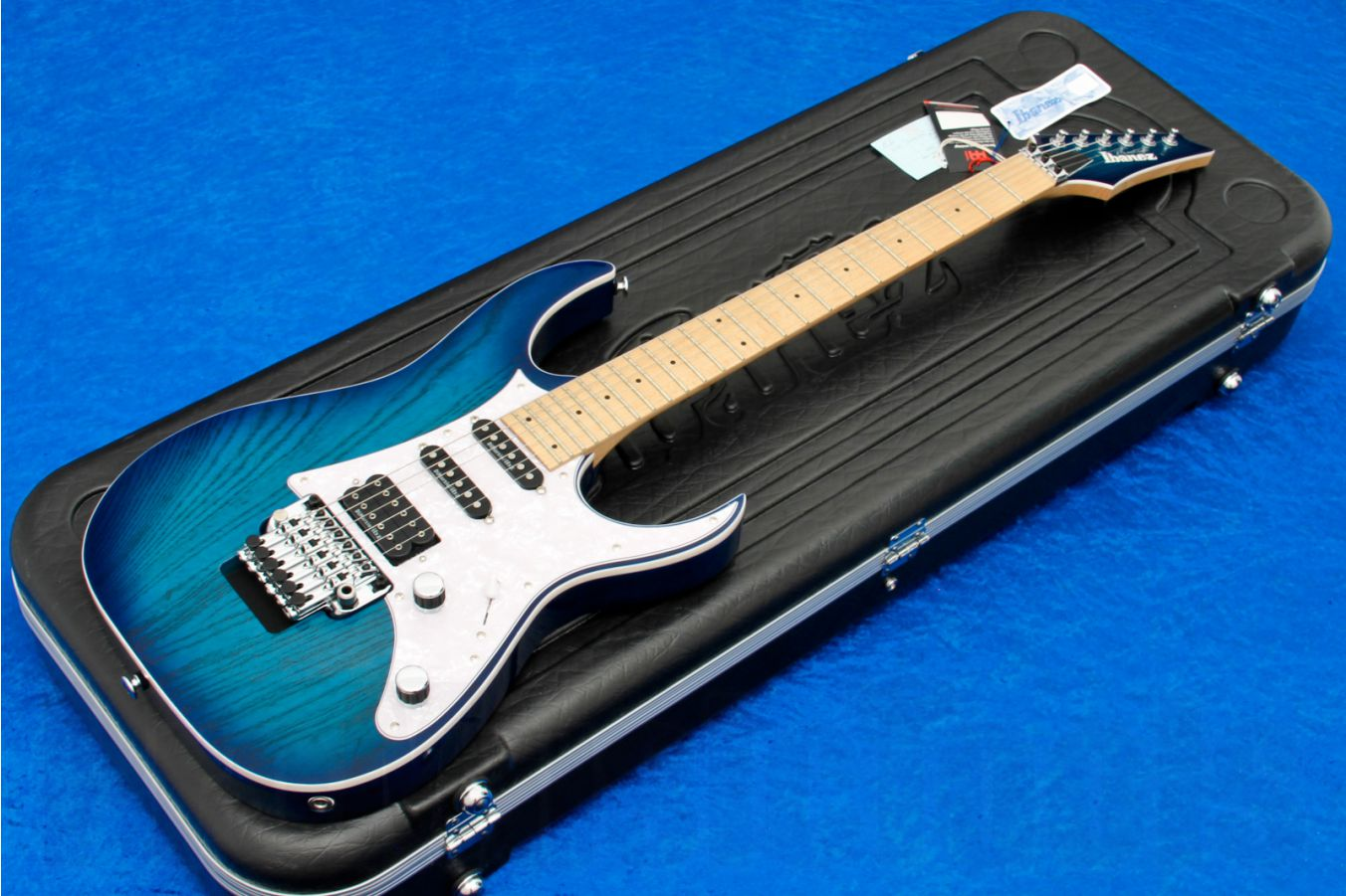 Ibanez RG2560MZEX ABT Prestige - Abyss Blue Burst Limited Edition
