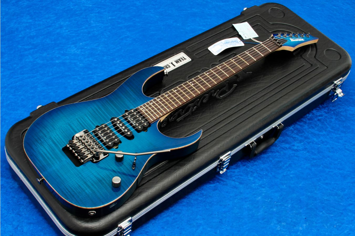 Ibanez RG2770Z SPB Prestige - Sapphire Blue Limited Edition