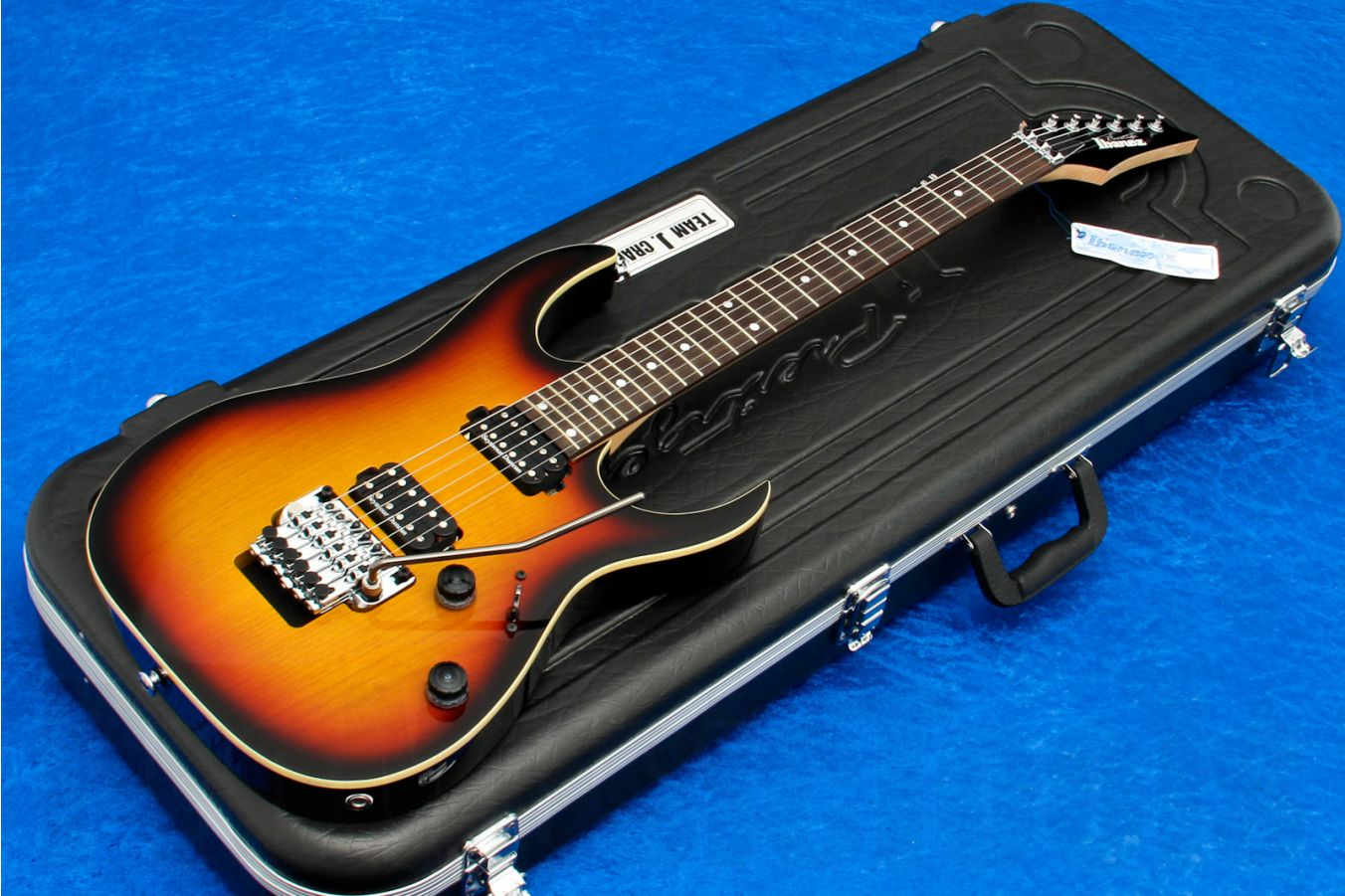 Ibanez RG2820ZD Prestige Limited Edition TFB - Tri Fade Burst (only 15 made) - demo