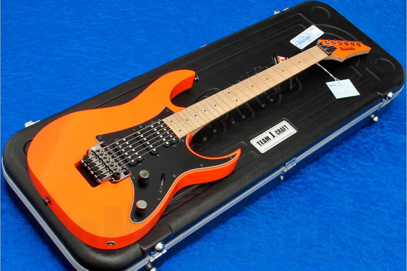 Ibanez RG3250MZ FOR Prestige - Flourescent Orange - demo
