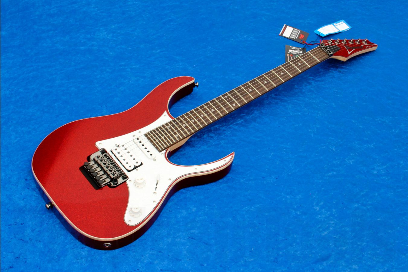 Ibanez RG550XH RSP - Red Sparkle - demo