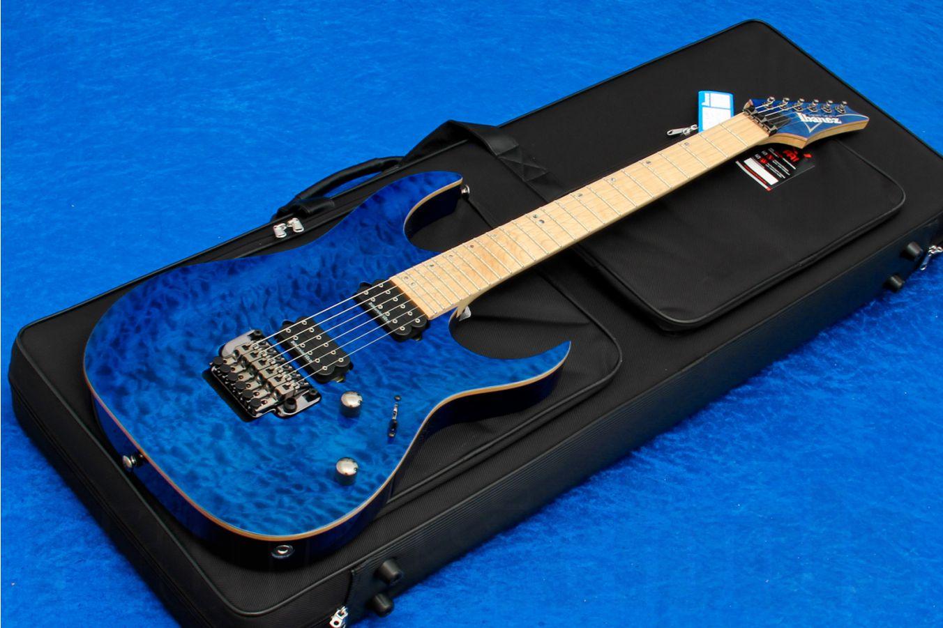 Ibanez RG920MQMZ CBE Premium - Cobalt Blue Surge - Limited Edition