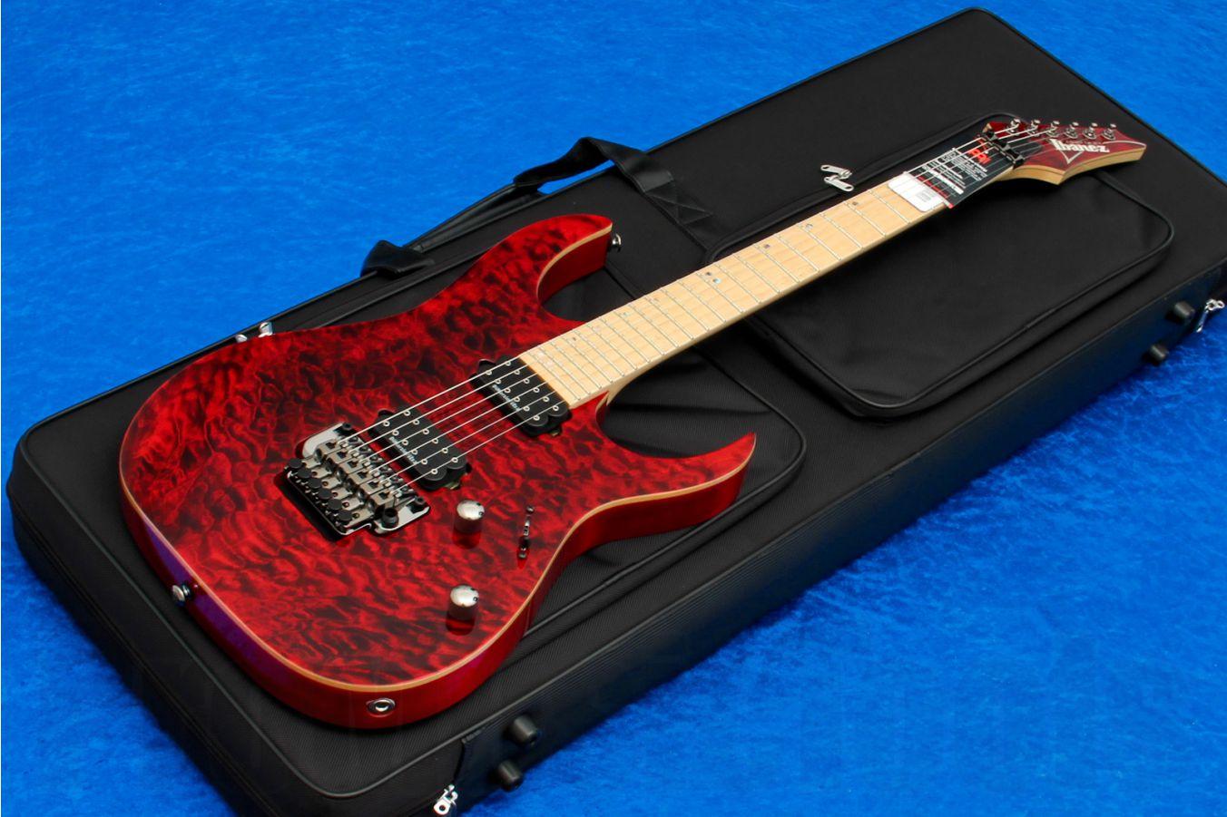 Ibanez RG920MQMZ RDT Premium - Red Desert - Limited Edition - demo