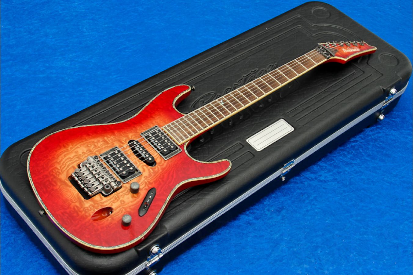 Ibanez S4170AB RVK Neck Thru Prestige - Red Viking