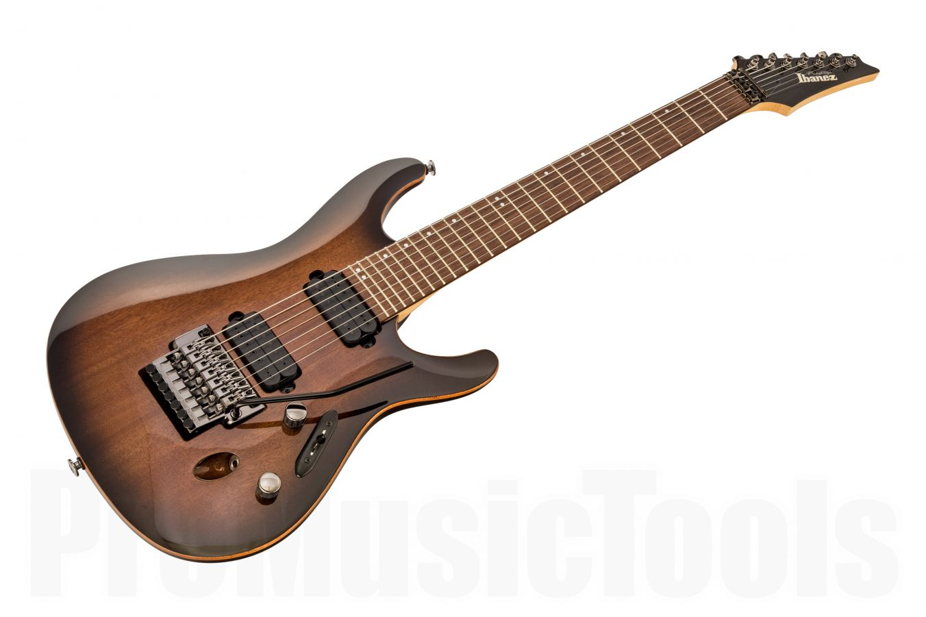 Ibanez S5527 TKS Prestige  - Transparent Black Sunburst