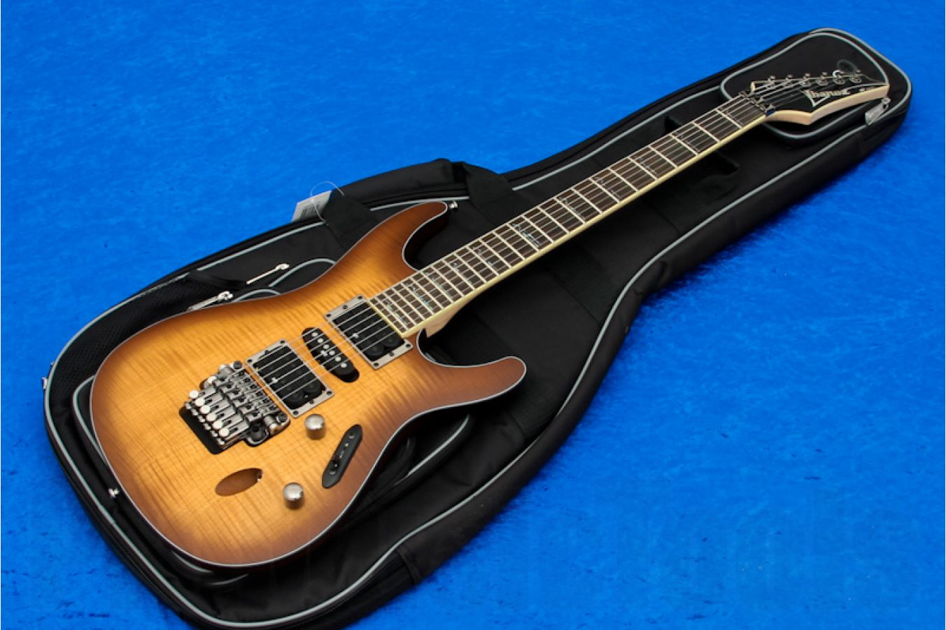 Ibanez S770FM ATF - Antique Burst Flat