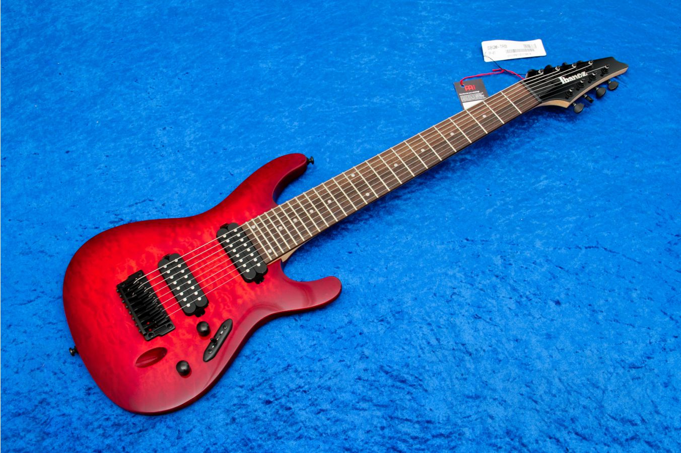 Ibanez S8QM TRB - Transparent Red Burst - b-stock (1x opened box)