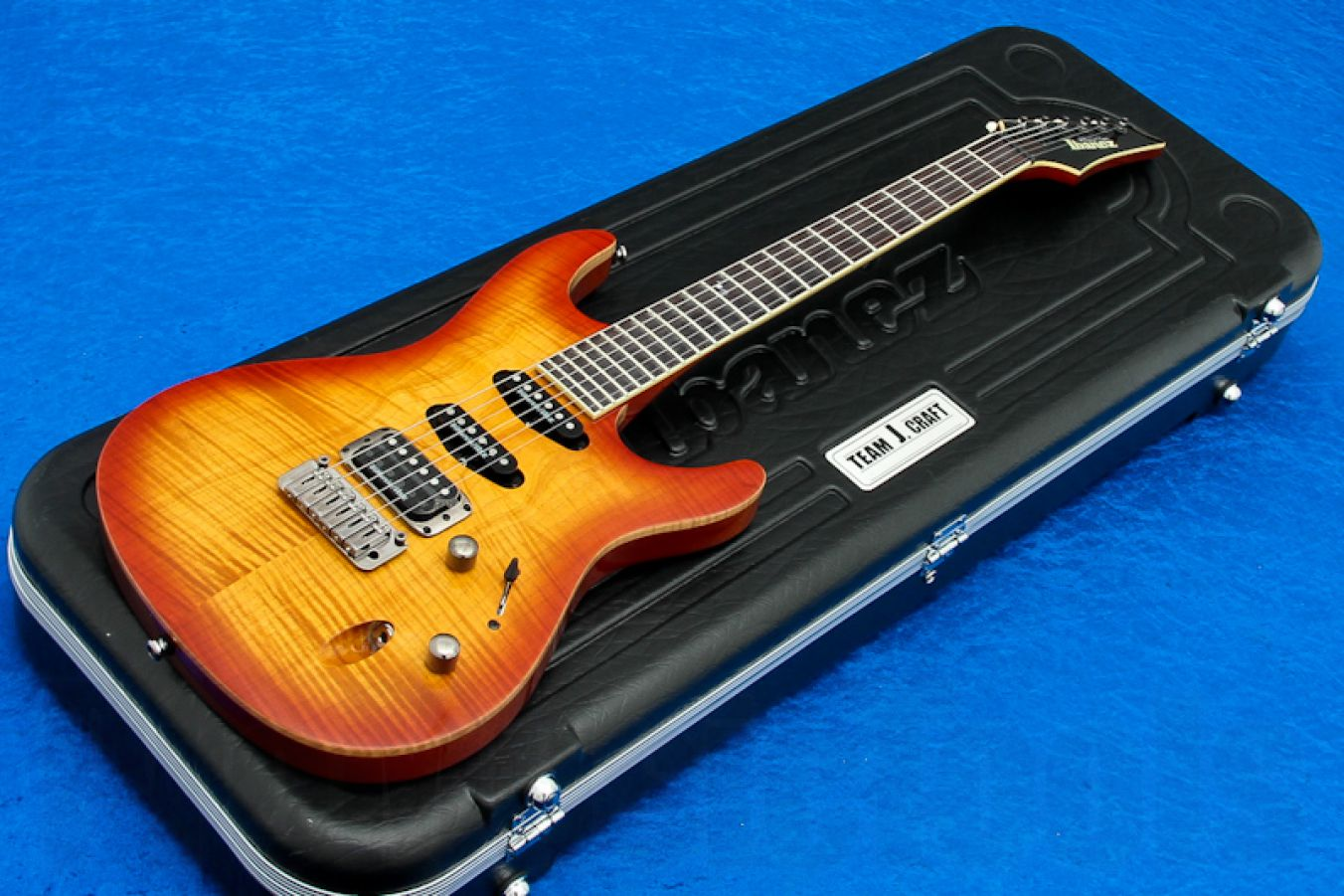 Ibanez SA2160FM HS Prestige - Honey Sunburst