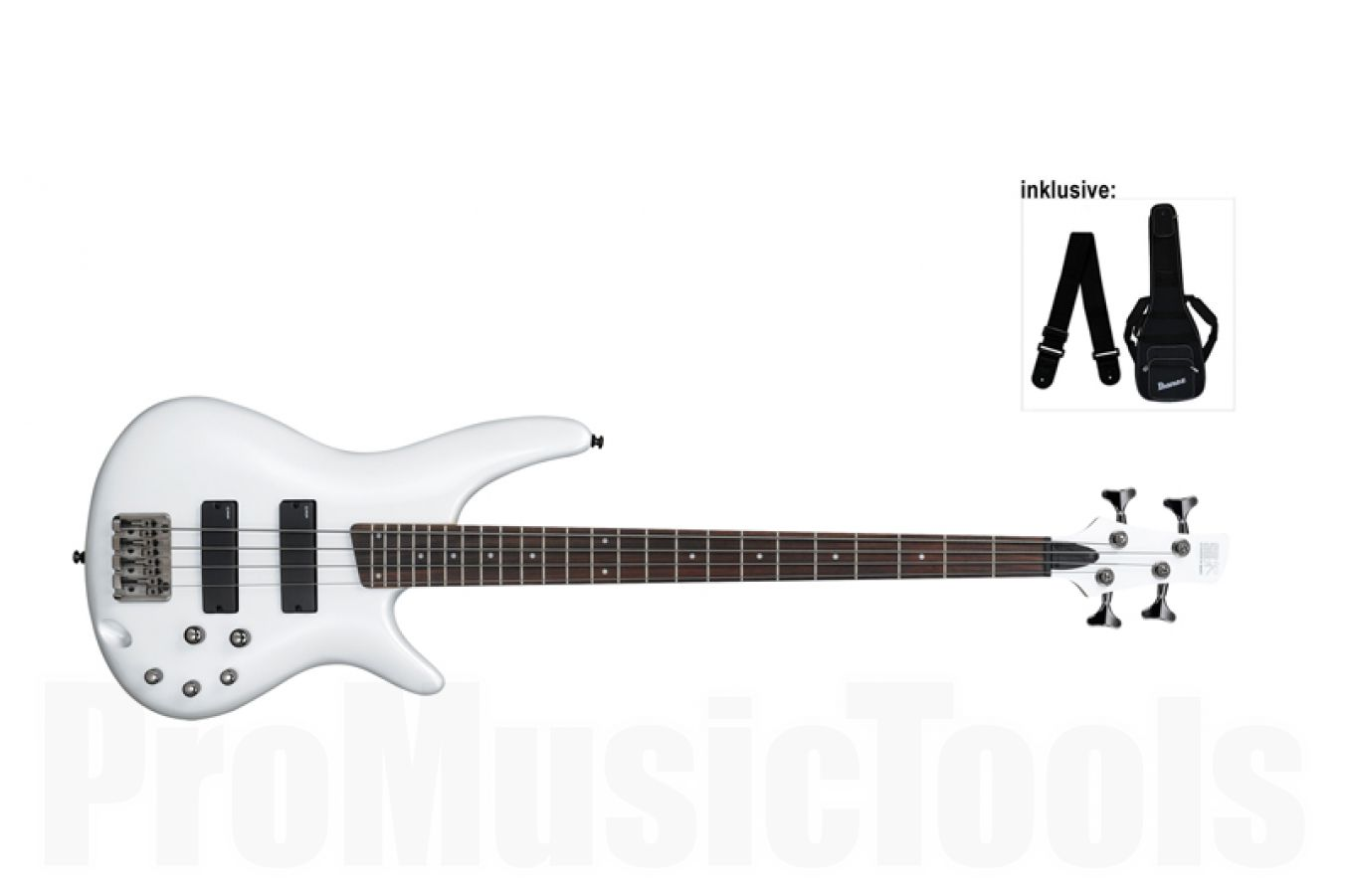 Ibanez SR300 PW - Pearl White - b-stock (1x opened box)