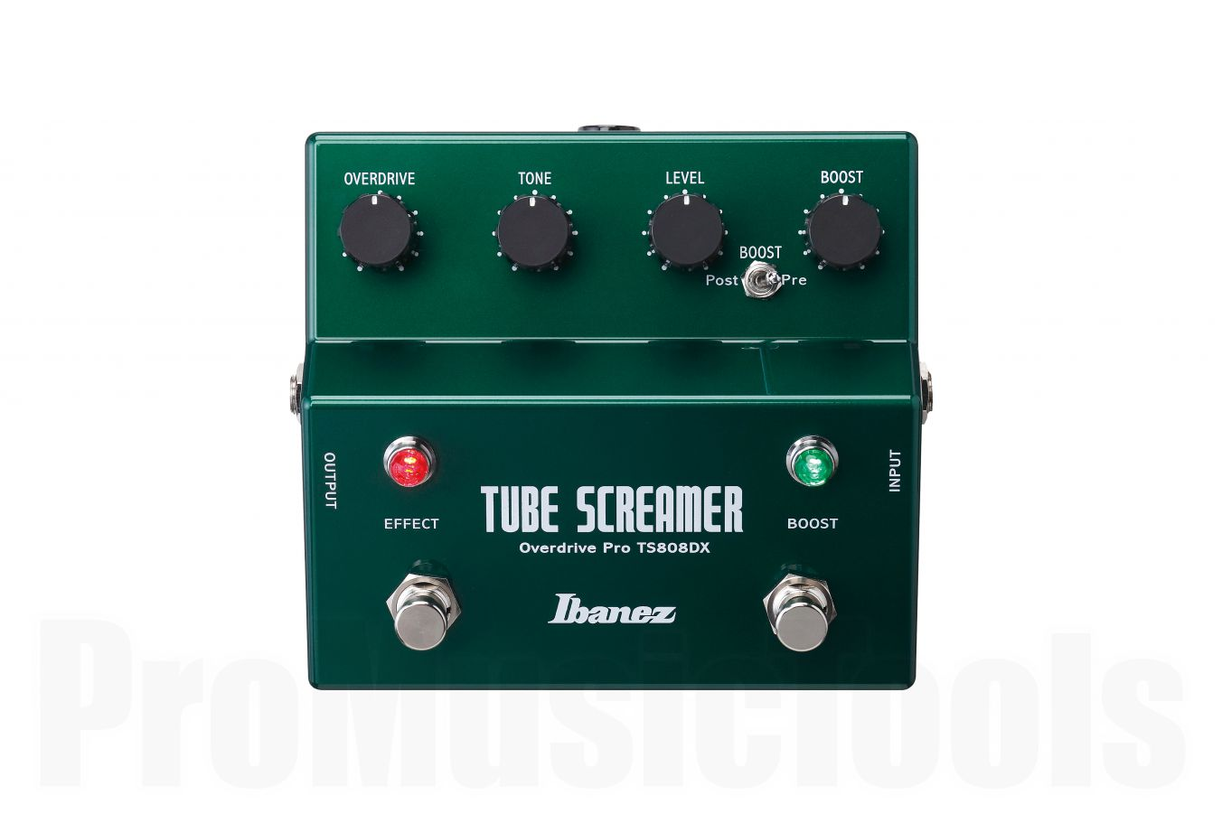 Ibanez TS808DX Tube Screamer with boost