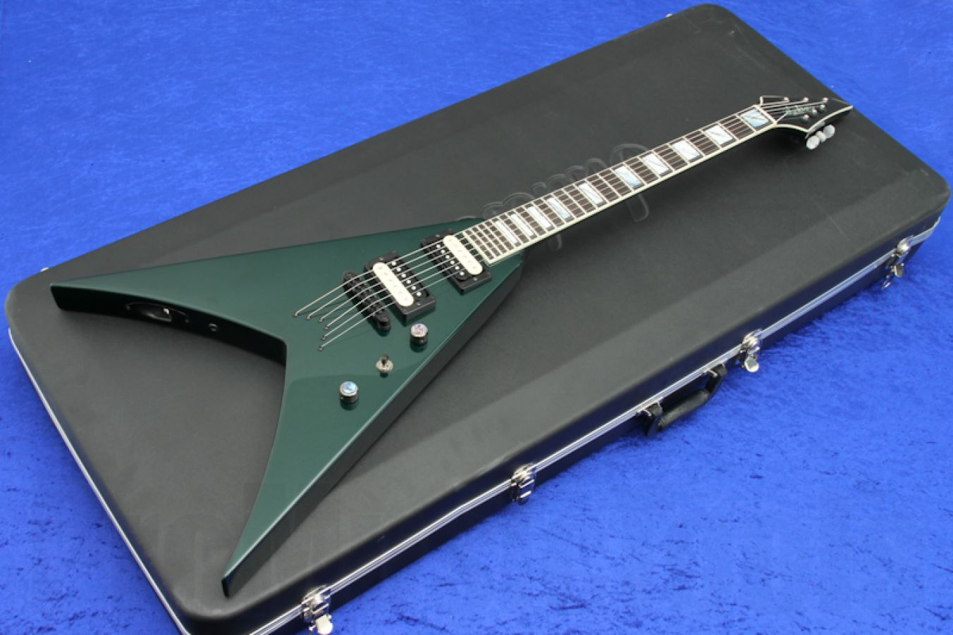 Jackson USA King V KV2T - Forest Green